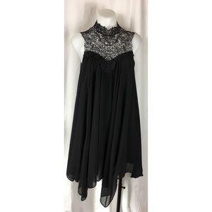 River Island dress halter swing lace sleeveless